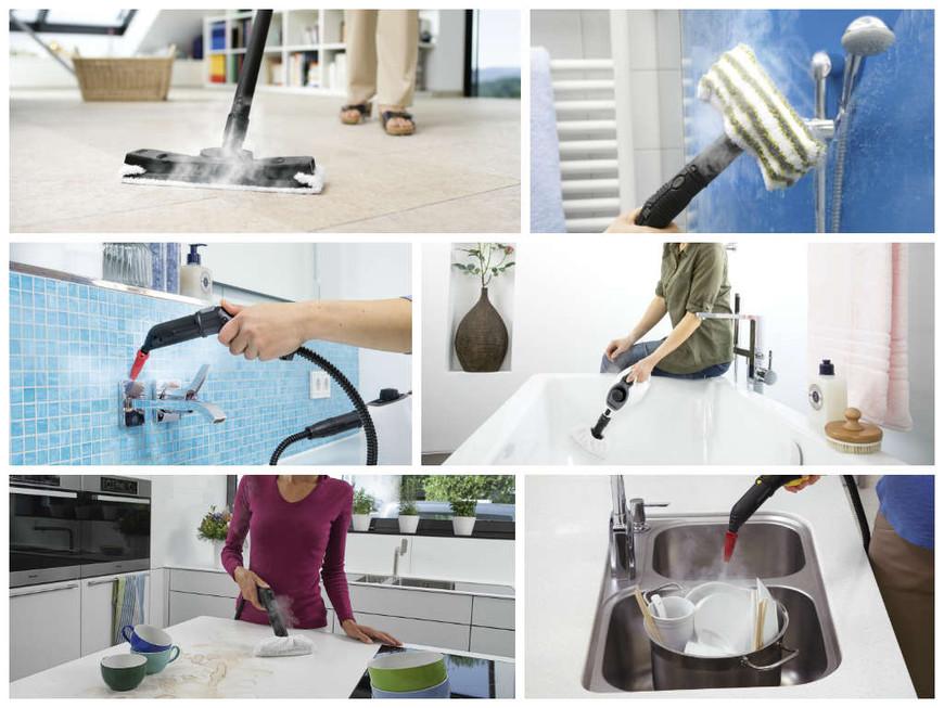 Волшебная сила пара: что очистит, как использовать, какой выбрать пароочиститель Karcher