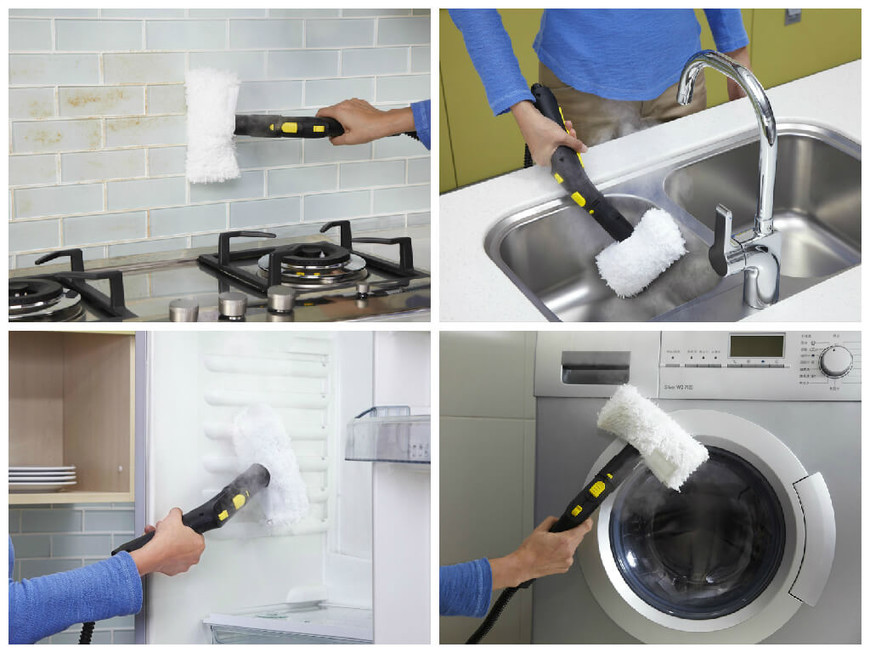 Пароочиститель поможет навести чистоту в любом уголке нашего дома